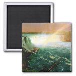 Niagara falls painting art artist Albert Bierstadt Fridge Magnets