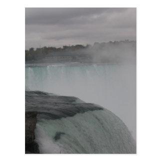Niagara Falls Photograph American Side in Winter Postcard