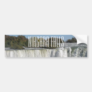 Niagara Falls Photograph Bumper Sticker