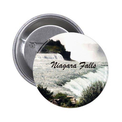 Niagara Falls Pin Redondo 5 Cm