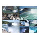 niagara, falls, canada, postcard