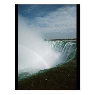 Niagara Falls Rainbow Postcard