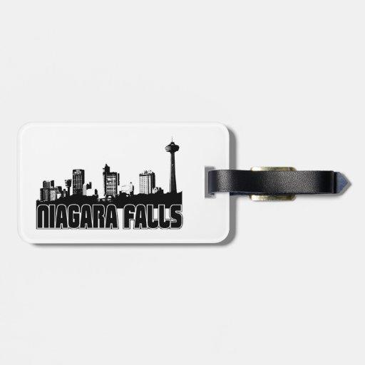 Niagara Falls Skyline Bag Tags