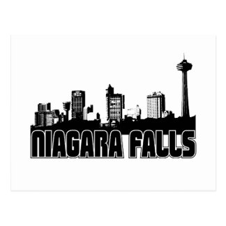 Niagara Falls Skyline Post Card