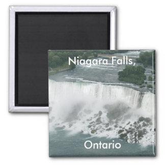 Niagara Falls Square Magnet