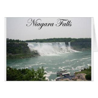 Niagara Falls Tarjeta De Felicitación
