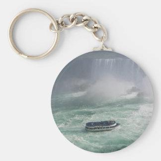 Niagara Falls Tour Basic Round Button Keychain