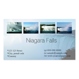 Niagara Falls travel business cards