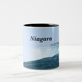 Niagara Falls Two-Tone Coffee Mug