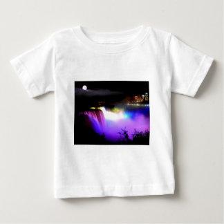 Niagara-Falls-under-floodlights-at-night Baby T-Shirt