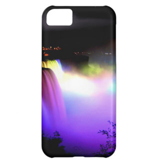 Niagara-Falls-under-floodlights-at-night Cover For iPhone 5C
