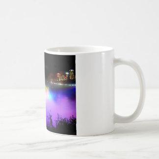 Niagara-Falls-under-floodlights-at-night Coffee Mug