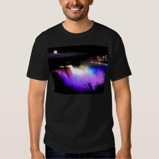 Niagara-Falls-under-floodlights-at-night T Shirts