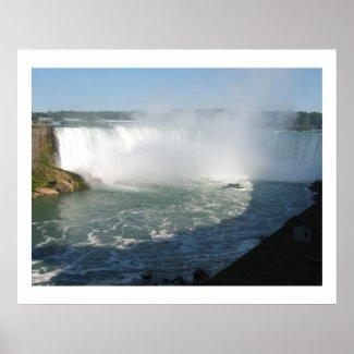 Niagara Falls View : ENJOY n share JOY Posters