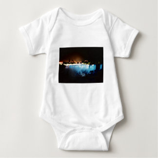 Niagara Falls Viewed From the U.S. Side Baby Bodysuit