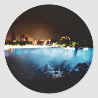 Niagara Falls Viewed From the U.S. Side Classic Round Sticker