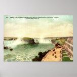 Niagara Falls, vintage 1915 del hotel de Clifton Poster