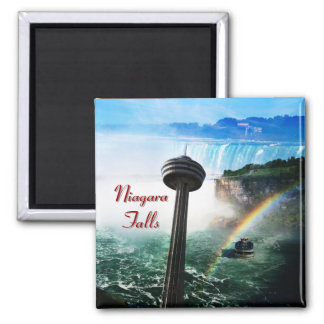 Niagara falls waterfall 2 inch square magnet