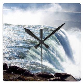 Niagara Falls Waterfall Clock