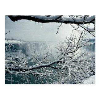 Niagara Falls winter Ontario Canada Post Card