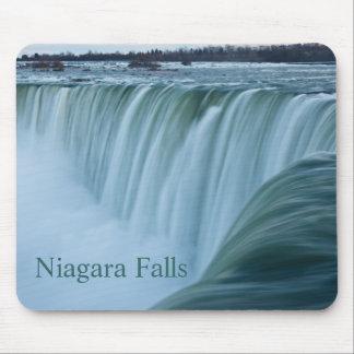 Niagara Falls with text Mouse Pad