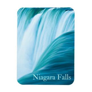 Niagara Falls with text Rectangular Photo Magnet