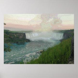 Niagara from Canada Poster
