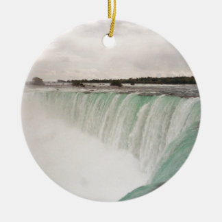 Niagara Double-Sided Ceramic Round Christmas Ornament