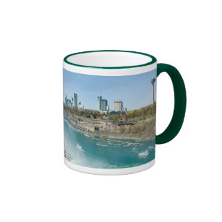Niagara Panorama Ringer Coffee Mug