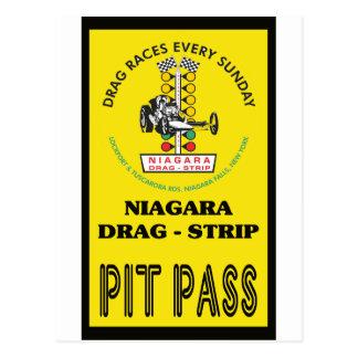 Niagara Pit Pass Post Cards