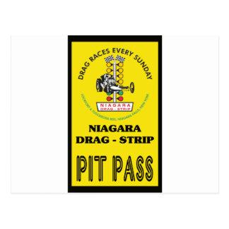Niagara Pit Pass Postcard