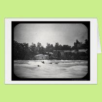 Niagara River Accident Daguerreotype 1853 Card