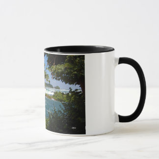 Niagara River Before the Falls Ringer Mug