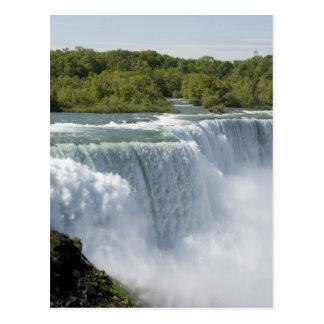 Niagara waterfall postcard