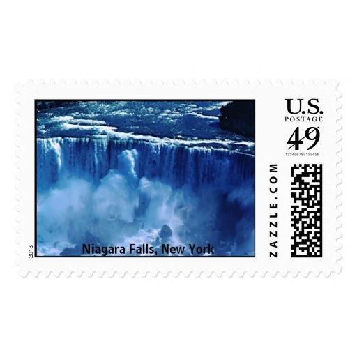 NiagaraFalls, Niagara Falls, New York Stamp