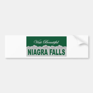 Niagra Falls Car Bumper Sticker