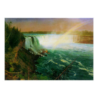 Niagra Falls by Bierstadt Posters