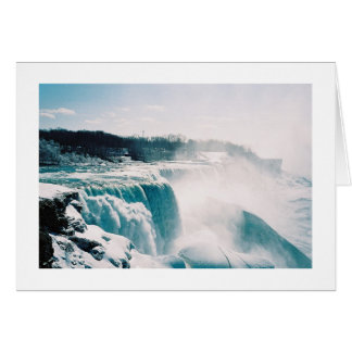 Niagra Falls Landscape Greeting Card