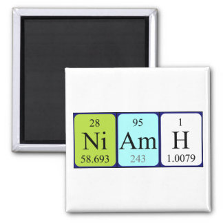 Niamh periodic table name magnet