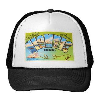 Niantic Connecticut CT Old Vintage Travel Souvenir Trucker Hat