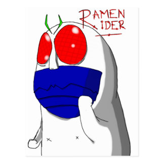 Niap Ramen Rider Postcards