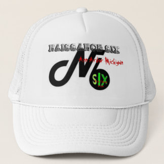 Niassance Six.bmp, NAISSANCE SIX, Ann Arbor Mic... Trucker Hat