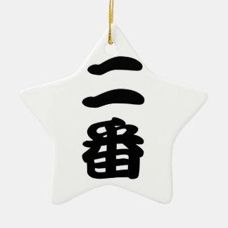 niban ceramic ornament