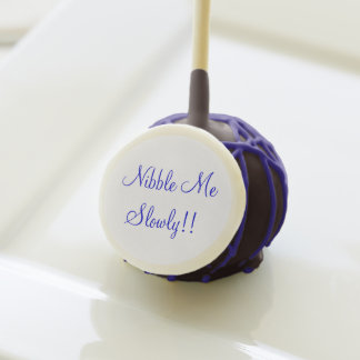 Nibble Me Slowly>Humorous Cake Pops