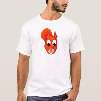 Nibbles the Squirrel Character T-Shirt