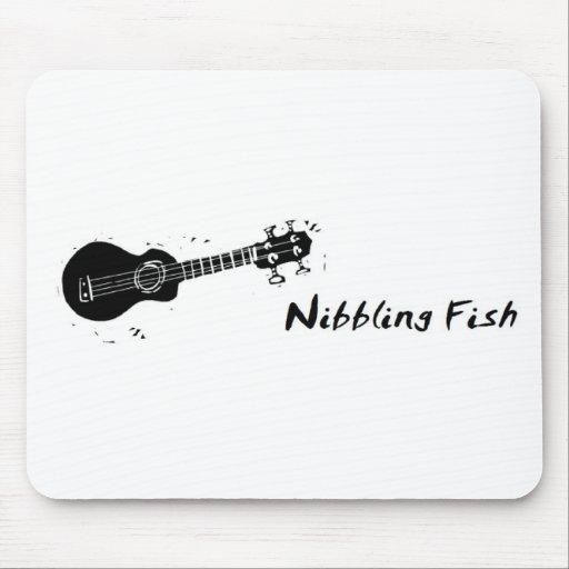 Nibbling Fish Mousepad