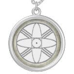 """Nibiru"" Round Pendant Necklace"