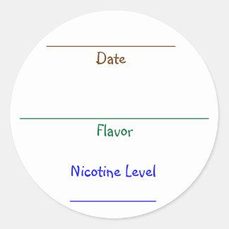 Nic-Juice Labels