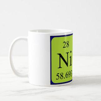 Periodic table coffee travel mugs zazzle nic periodic table name mug urtaz Gallery