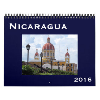 nicaragua 2016 calendar